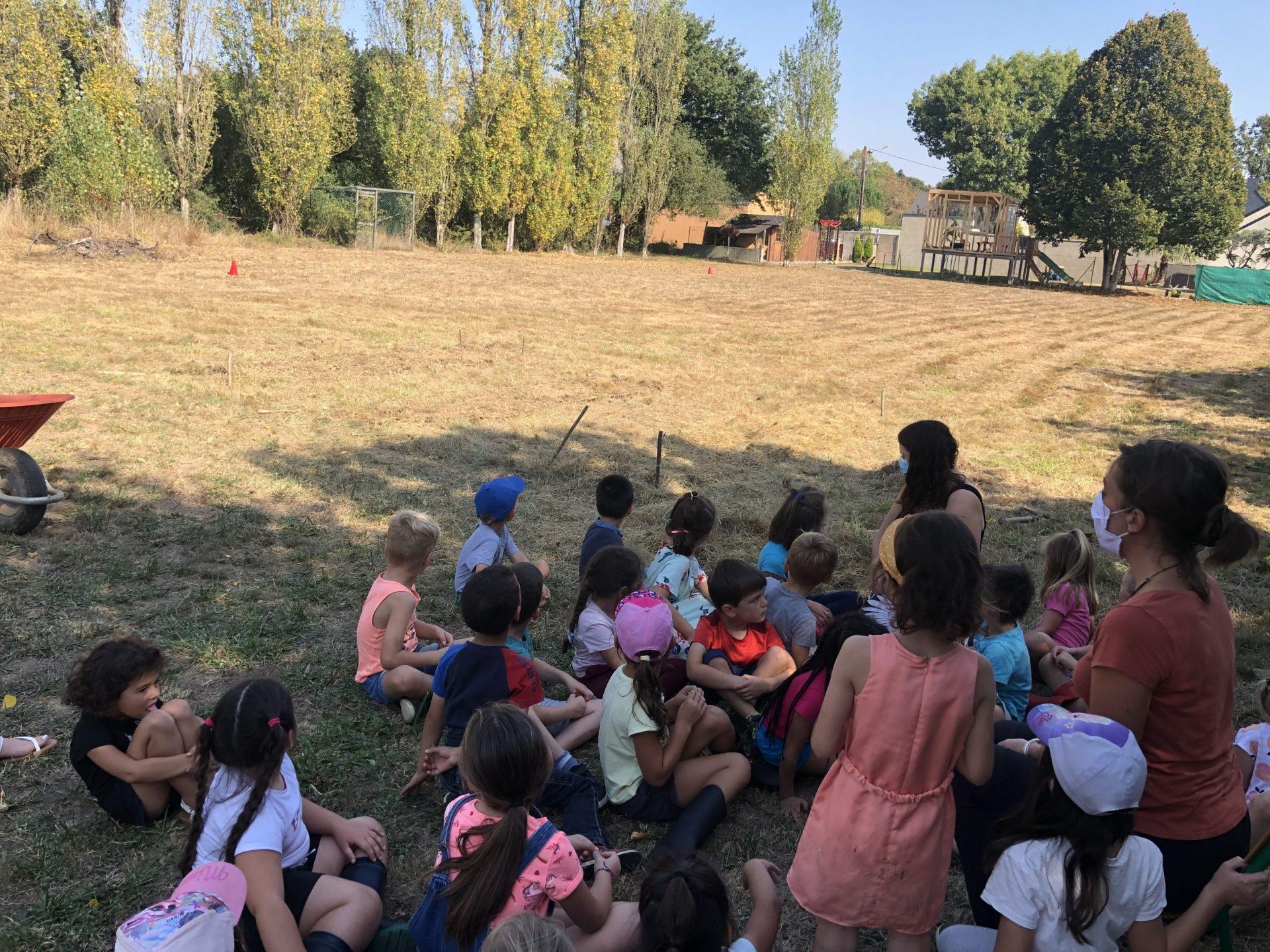 Read more about the article Un jardin bio dans l'école : Episode 1