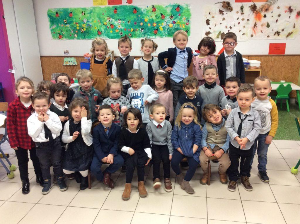 La grande classe dans la classe des petits!