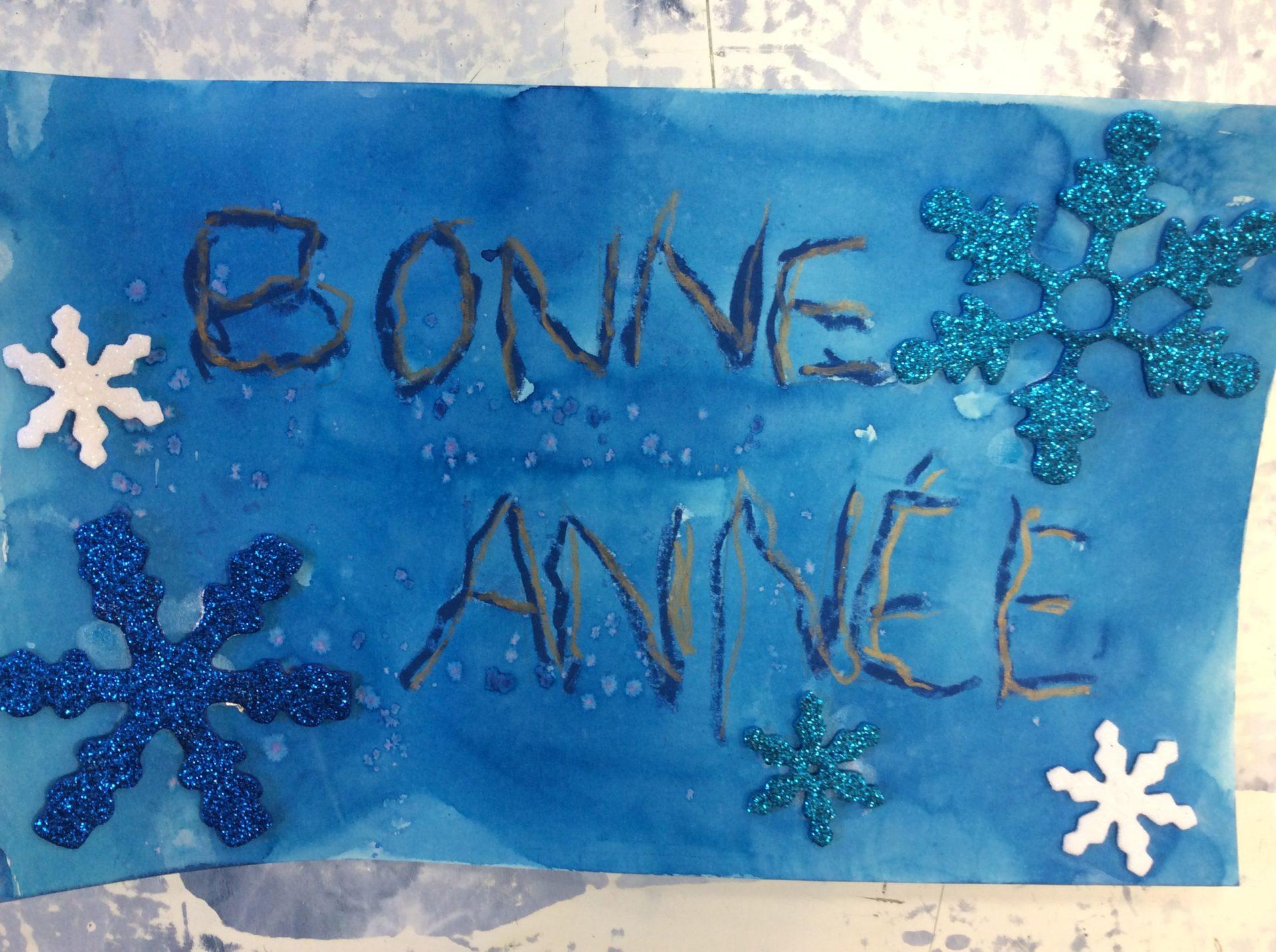 Read more about the article Bonne année!