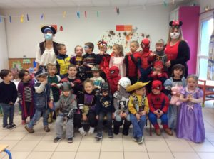Carnaval à l'école Notre Dame