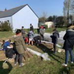Un jardin bio dans notre école – premières plantations